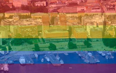 Pride Park, flaggheising og frivillige – god Pride!