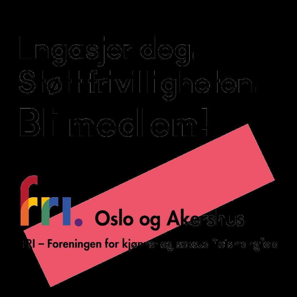 FRI Oslo og Akershus - Engasjer deg, støtt frivilligheten og bli medlem!