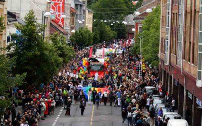 Alle paradeinnslag og flåter – Oslo Pride Parade 2017