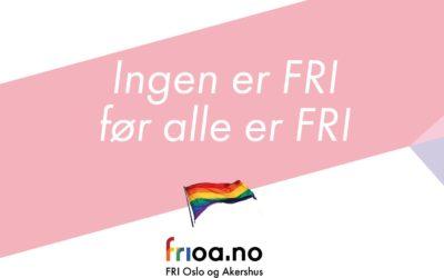 Bli delegat for FRI Oslo og Akershus på FRIs Landsmøte i 2018!