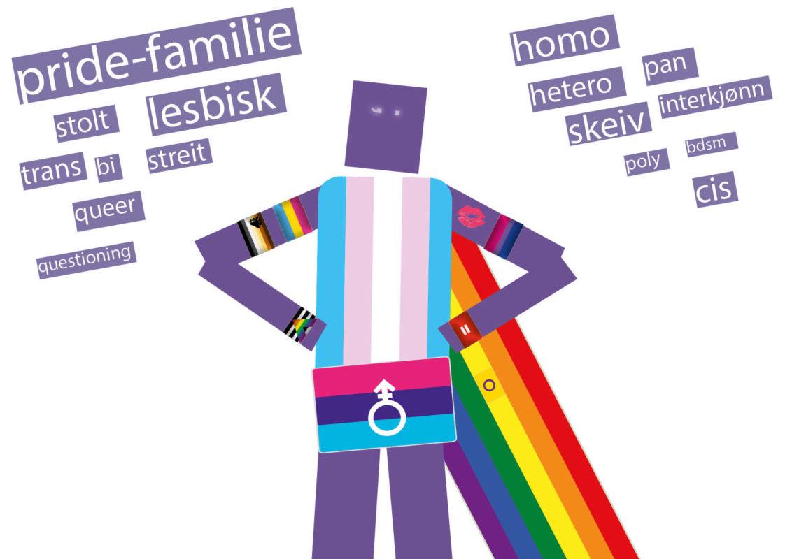 Familie er pridetema 2018. Og på Youngstorget bygges nytt festivalområde som skal romme både Pride House og Pride Art. Her skal vi utforske, utfordre og utvide familie som begrep.