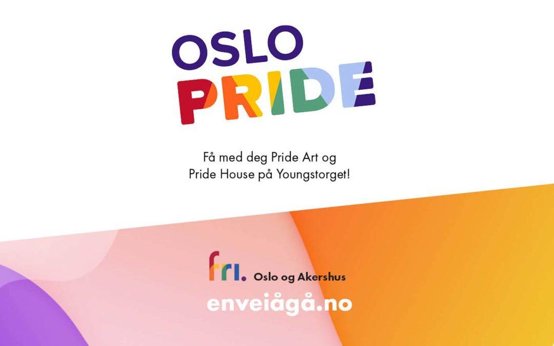Bli med den første helgen under Oslo Pride 2018!