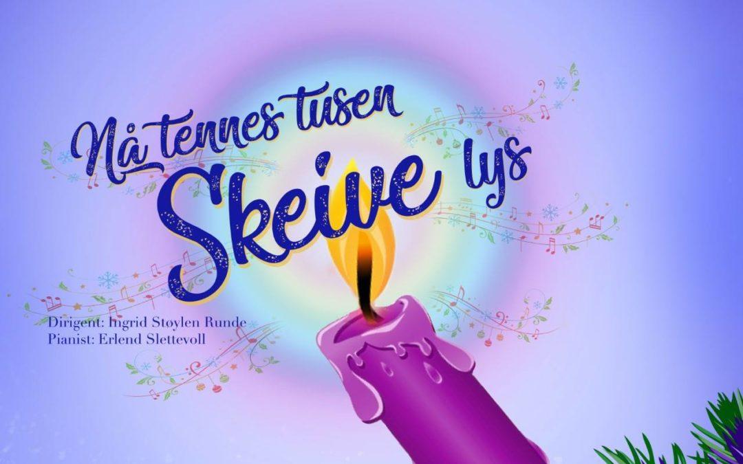 Homofonien inviterer nok en gang til skeiv julekonsert: «Nå Tennes Tusen Skeive Lys» på Sagene Festivitetshus!