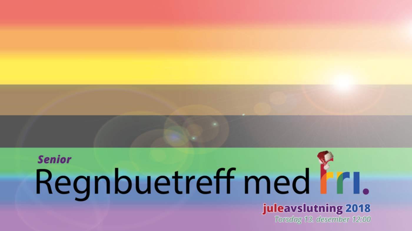 Senior regnbuetreff med FRI - juleavslutning 2018 på Kampen Omsorg+ Torsdag 13. desember klokken 12:00-15:00