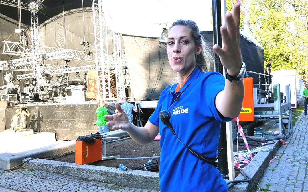Cathrine Daae, frivilligsjef i Oslo Pride.