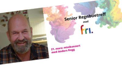 Regnbuetreff med minikonsert: Anders Rogg