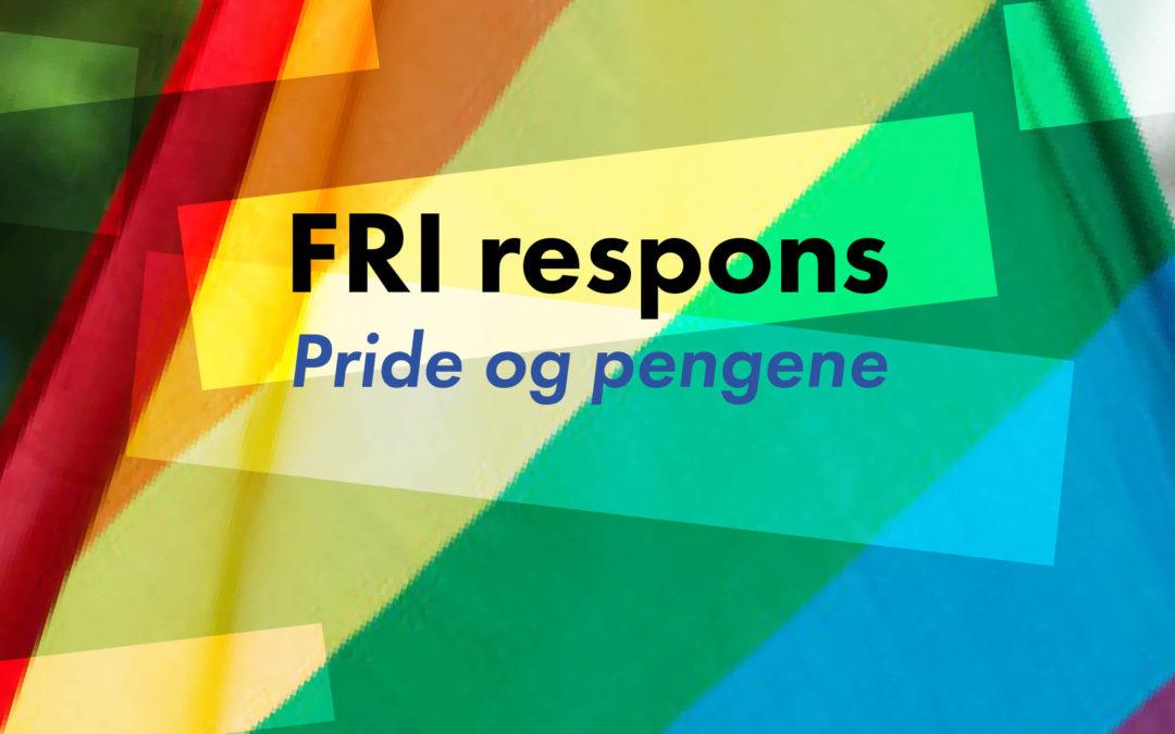 FRI respons: Om Oslo Pride, næringslivet og den skeive kampen