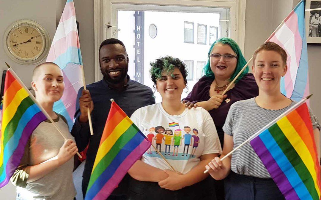 Skeiv fadderdag – Queer Fresher's Day