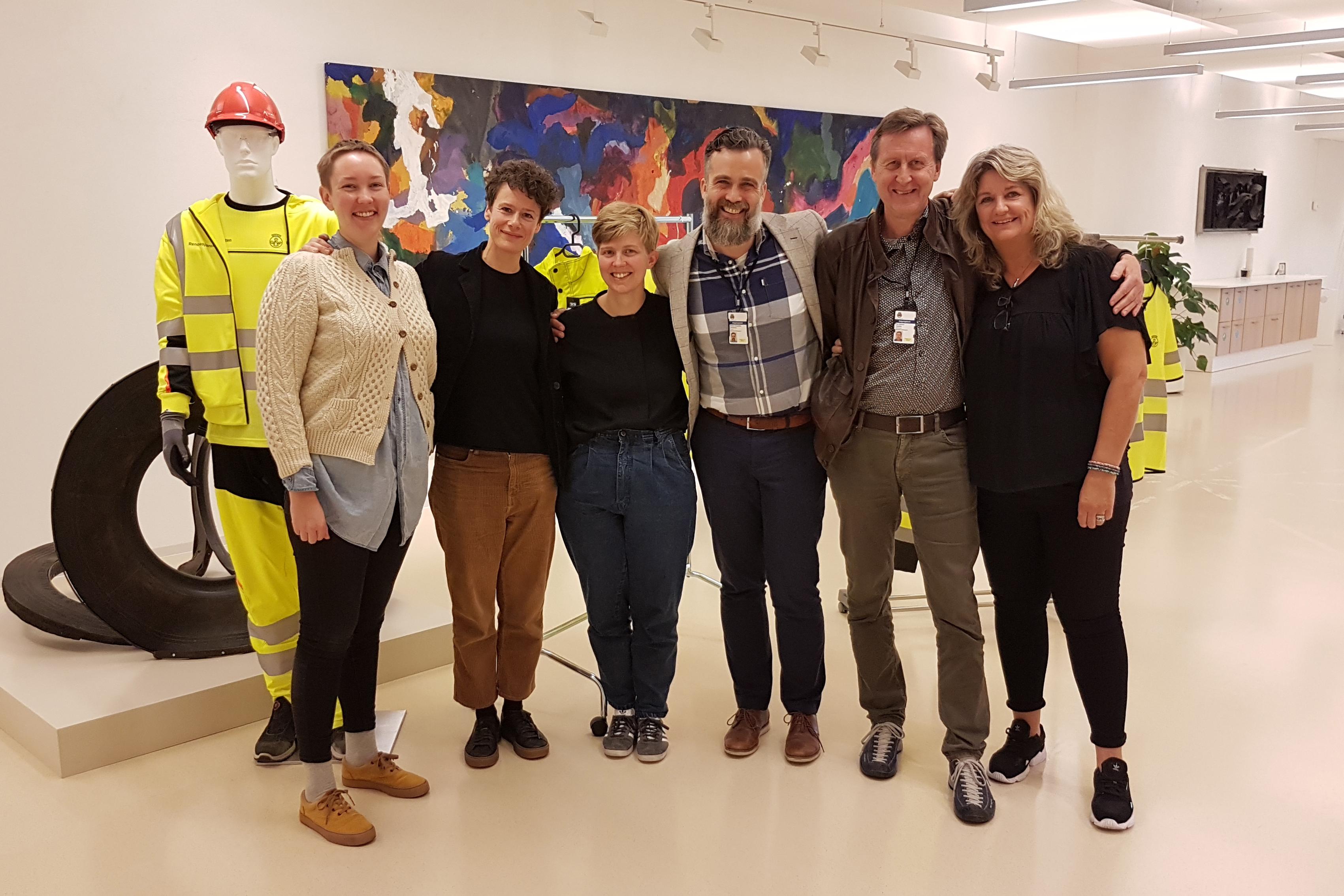 """2019: Fredag 20. september lanserte Skeiv kunnskap i FRI Oslo og Akershus det nye nettkurset """"Kjønn, seksualitet og normer"""" hos Renovasjonsetaten i Oslo."""
