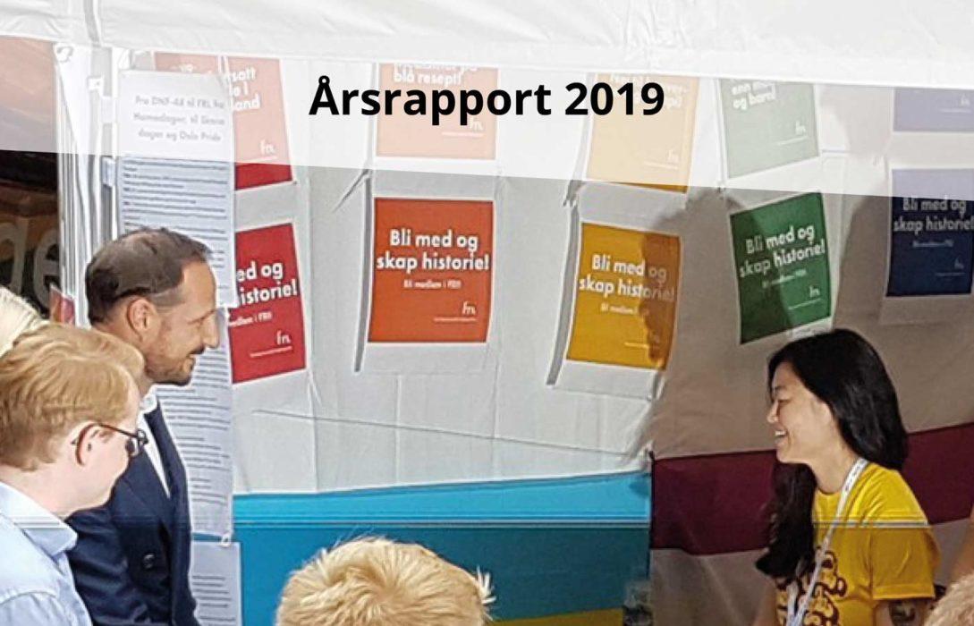 Årsrapport FRI Oslo og Viken 2019 + valgkomiteens innstilling 2020