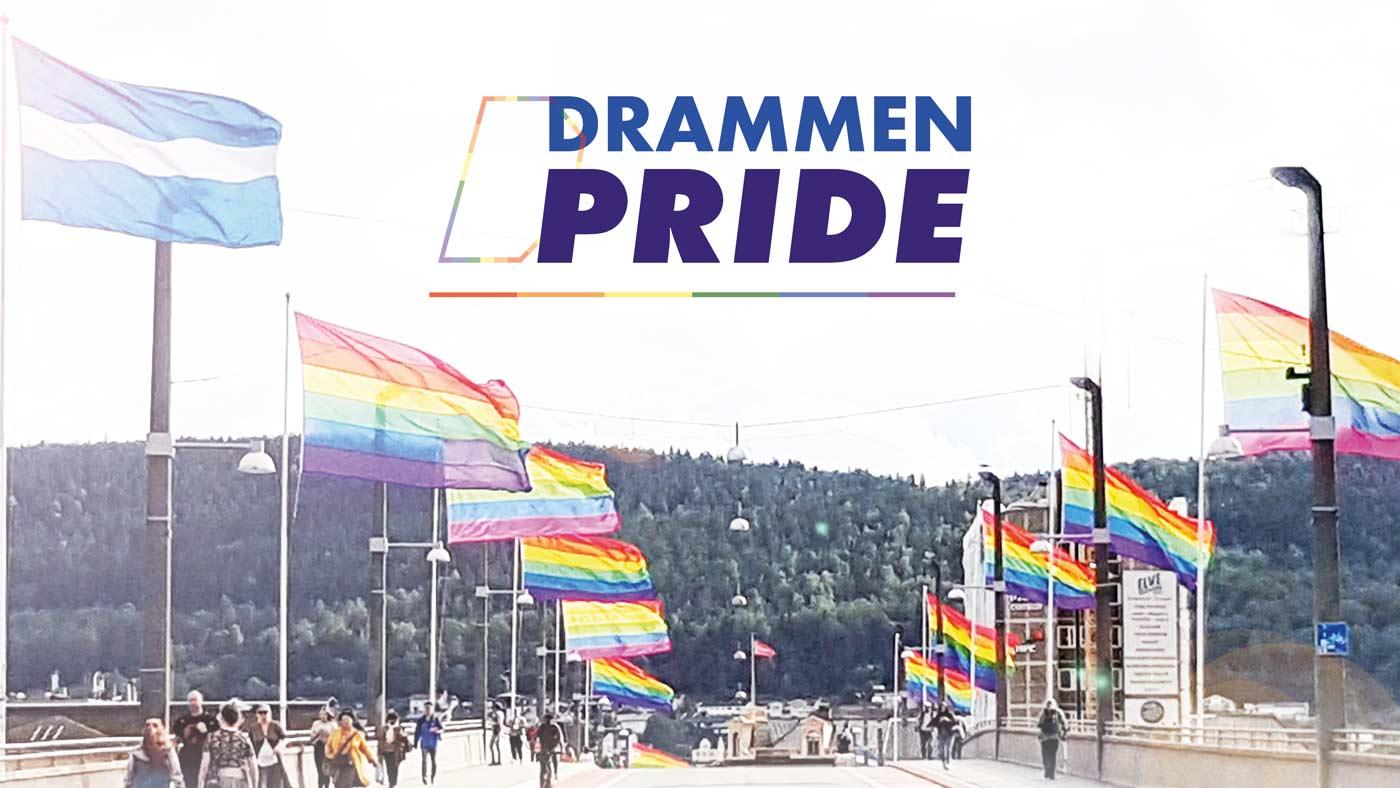 Sett av helgen 14.-16. august 2020! Det er klart for Pride i elvebyen for andre gang.