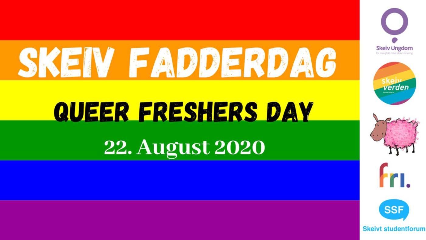 Velkommen til Skeiv fadderdag lørdag 22. august 2020.