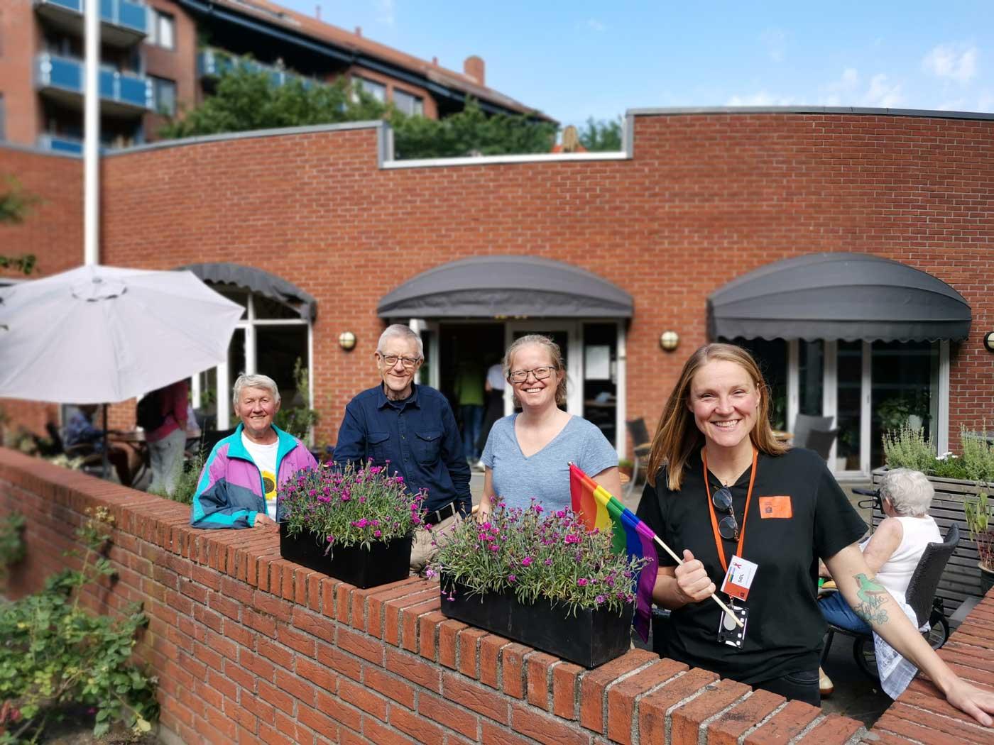 Senior regnbuetreff med FRI2020 - på Ellingsborg Resurssenter