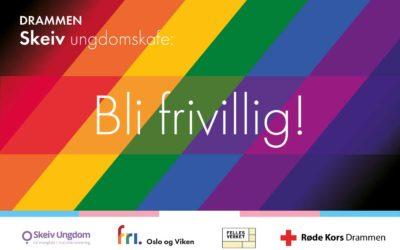 Skeiv ungdomskafe i Drammen – bli med som frivillig!