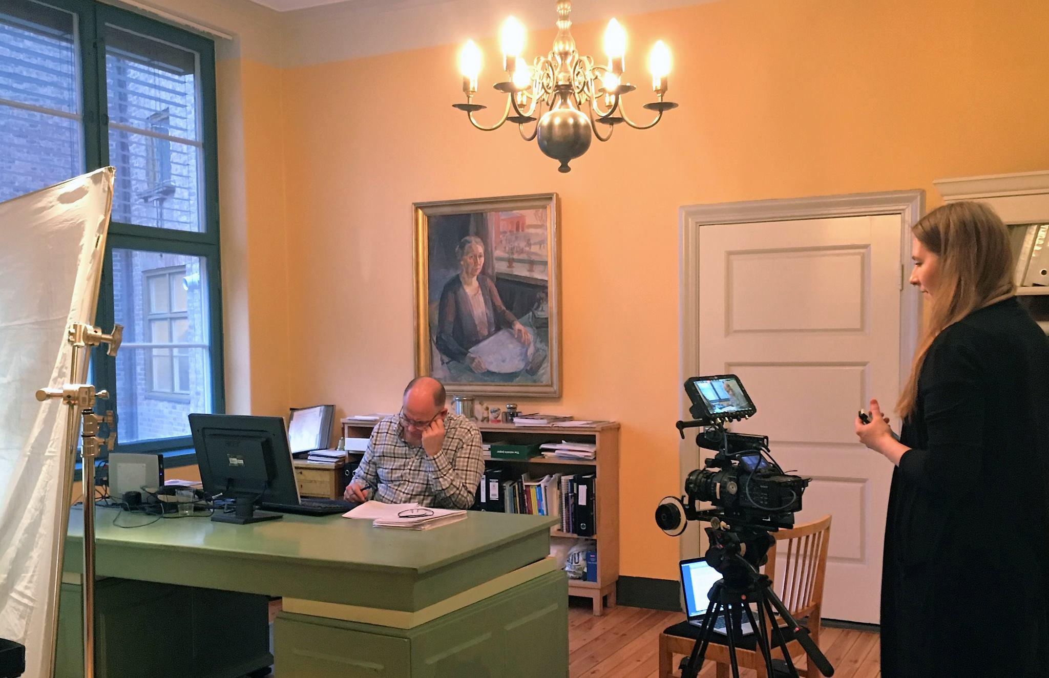 2017 - film om Skeiv kunnskaps innsats i skolen spilles inn. Regi Monica Aasen.