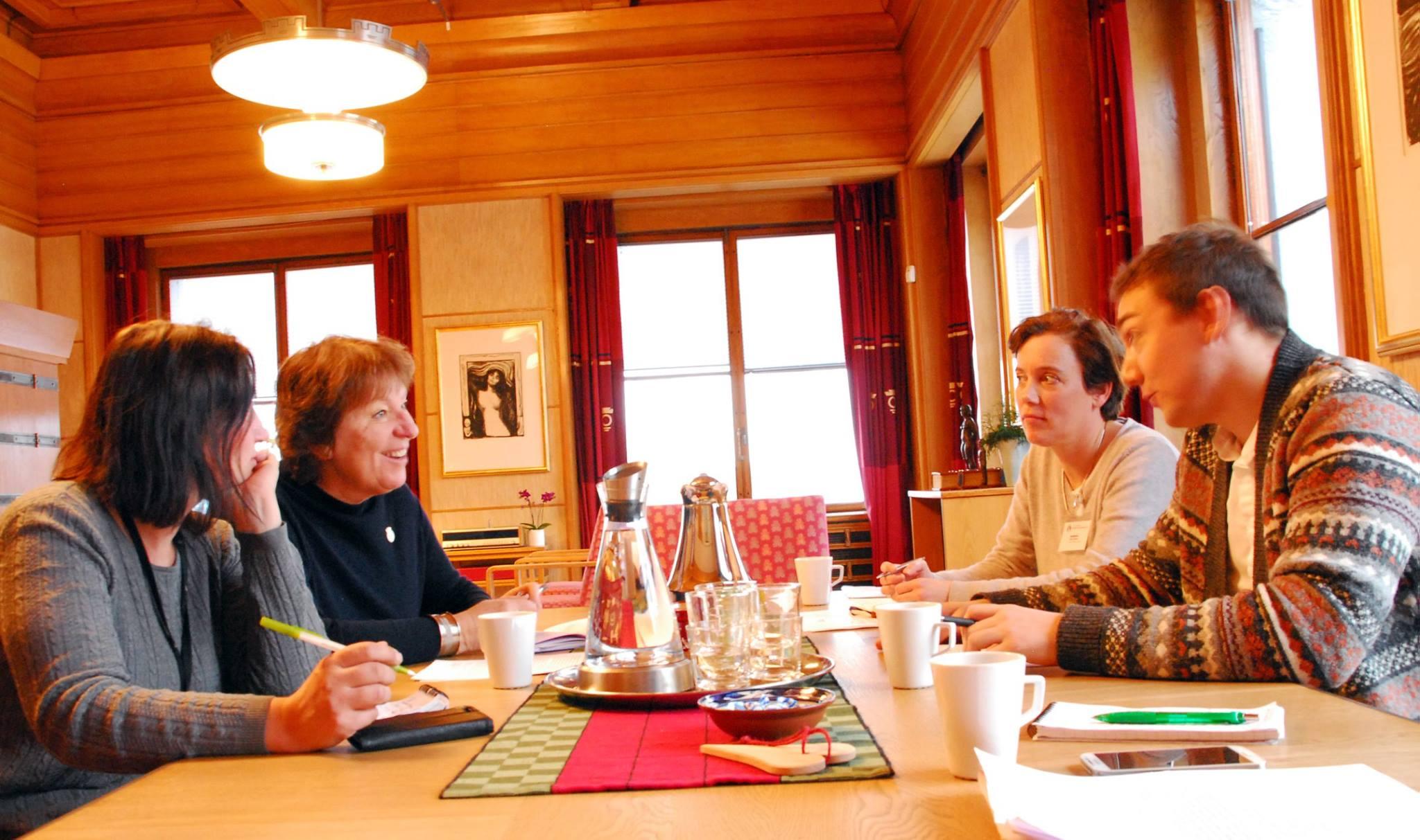 Monica Bothner og Hans Heen Sikkeland møter Ordfører Marianne Borgen, 2016