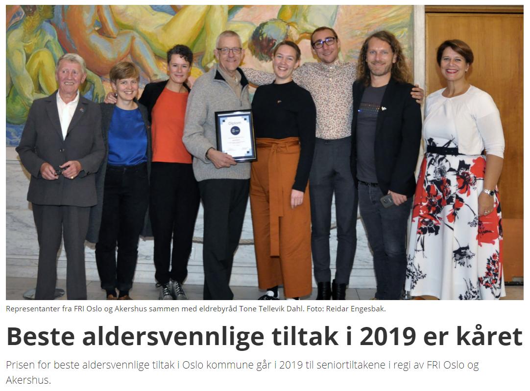 Bilde fra Blikk-artikkel. Fra venstre: Inger Myhre Hansen, Hanna Christophersen, Janne Bromseth, Åsmund Wik, Brita Brekke, Hans Heen Sikkeland,Petter Ruud Johansen, Tone Tellevik Dahl, 2019