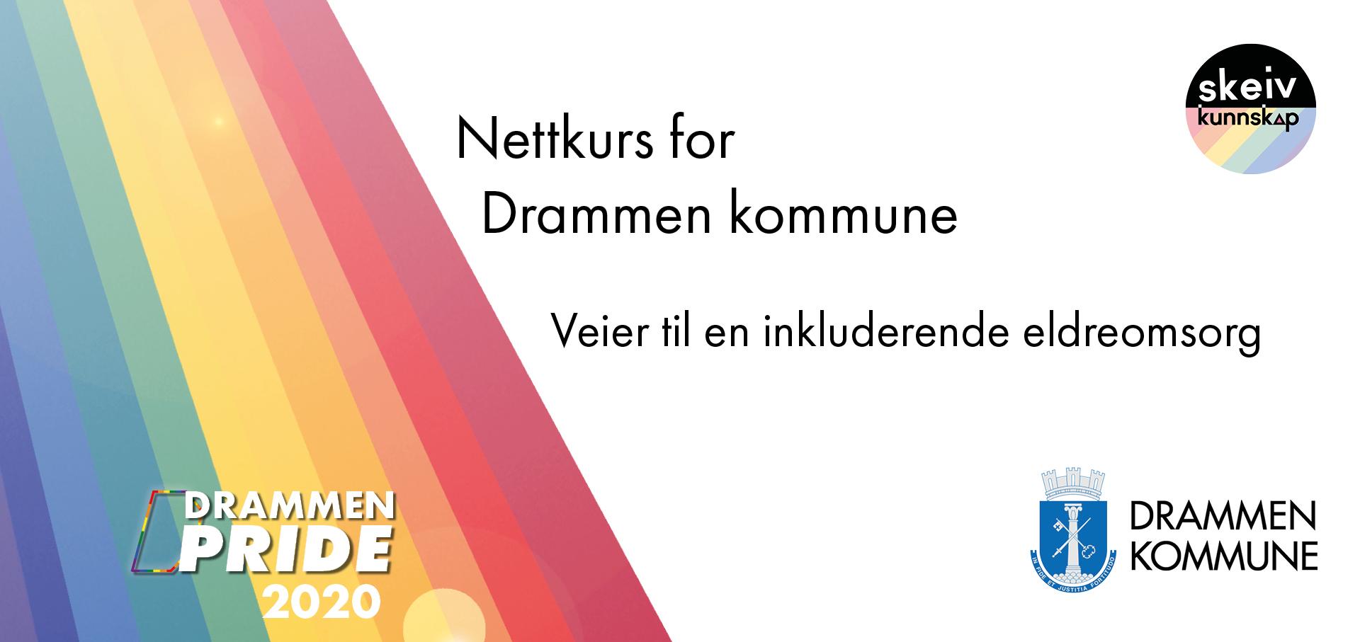 Nettkurs for Drammen kommune - i anledning Drammen Pride 2020