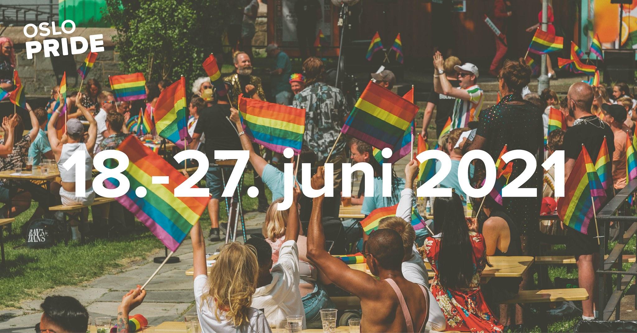 Oslo Pride 2021. Foto: lekestove