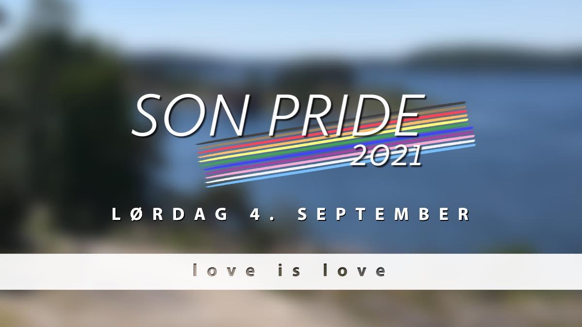 Save the date! Son Pride arrangeres lørdag 4. september 2021.