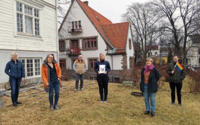 Er Oslos første Regnbuefyrtårn