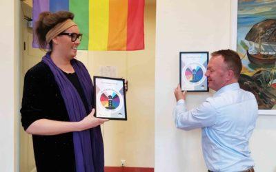Gamlebyen er første Regnbuefyrtårn i Oslo-skolen